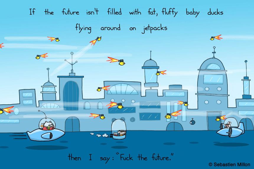 funny penguin cartoon
