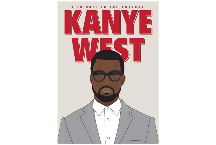 Kanye West Poster Markus wikenståls portfolio